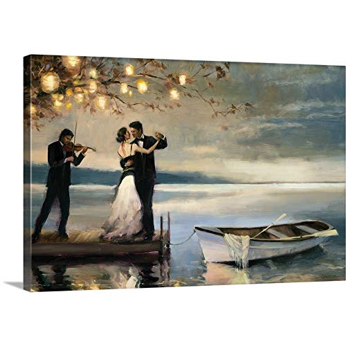 Twilight Romance Canvas Wall Art Print, 48