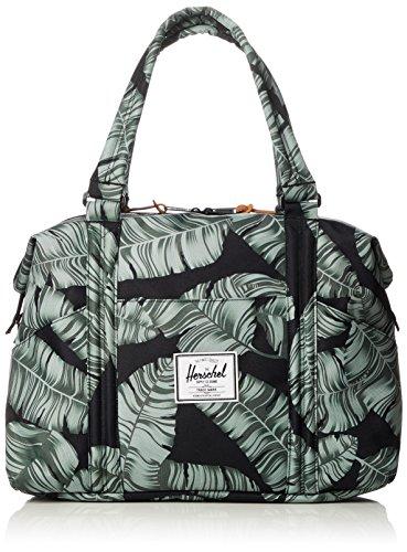 Herschel Supply Co. Strand Duffel Bag, Black Palm, One Size by Herschel Supply Co.