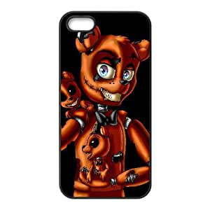 iPhone 5,5S Phone Case Black Five nights at Freddy's UYUI6750877