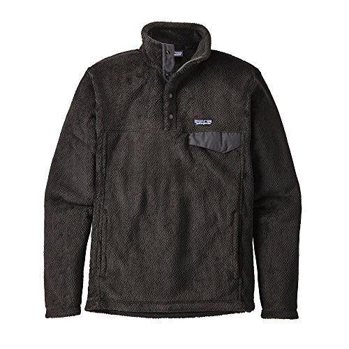 Patagonia Men's Re-Tool Snap-T Fleece Pullover (Black, Medium) (Patagonia Mens Re Tool Snap T Fleece Pullover)