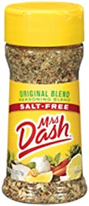 Mrs. Dash ORIGINAL BLEND Salt-Free Seasoning 2.5oz (4 Pack)