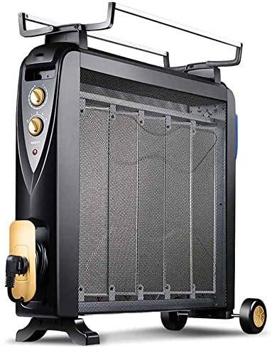 ヒーター、温度コントロールノブ家庭の省エネ電気暖房フィルムをすばやくヒートアップとアンチ火傷電気ヒーター簡単に移動