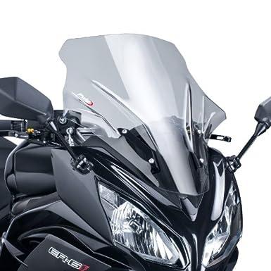Protector para 5998H Racing Puig Kawasaki ER-6F 2012-2014, Talla M, Color Gris Ahumado