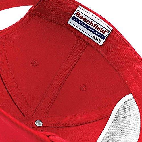 Beechfield Básico Red para Gorro Fuchsia niño 7r8q7H