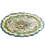 French Country Floral Accent Rug