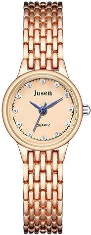 ZYAPCNGN Women Star Diamond Watch Ladies Quartz Watch Gift Simple Inlaid Alloy Wristwatch Ladies Quartz Watch Women Watch