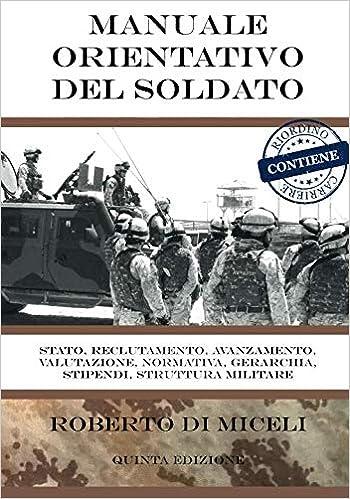Amazon.it  Manuale orientativo del Soldato  Tutto ciò che dovresti  conoscere 5cb3f6d8545