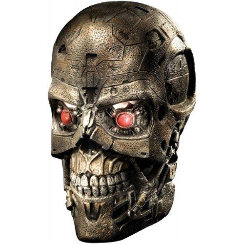 The Terminator Fancy Dress Costume (Terminator Salvation Movie Child's Costume T600, Medium)