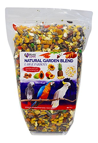 Birds LOVE All Natural Garden Blend Bird Food for Parrots 6lb