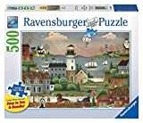 Ravensburger Beacons Cove Large Format 500 Piece Jigsaw Puzzle for Adults – Every Piece is Unique, Softclick Technology Means Pieces Fit Together Perfectly