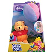 Disney Winnie The Pooh Plush Toy with Suction Cups POOH with Balloon and Honey Pot