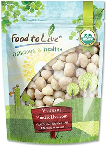 Nuts & Seeds: Food To Live Macadamia Nuts
