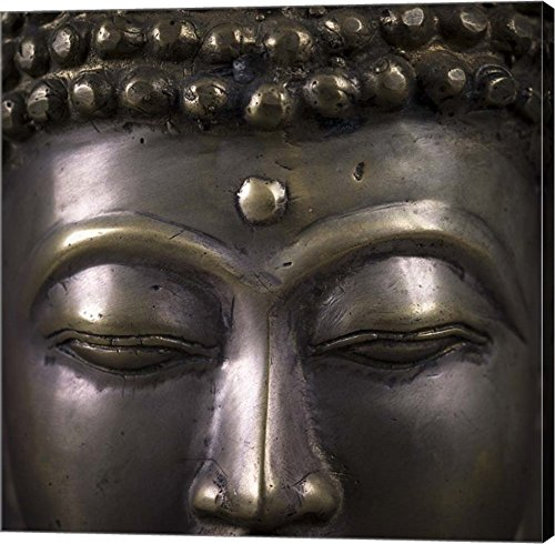Assaf Frank - Buddha 2 by Assaf Frank Canvas Art Wall Picture, Gallery Wrap, 37 x 37 inches
