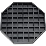Great credentials GC-DT-6 Coffee Countertop Octagon Drip Tray - 6