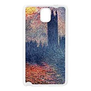 Claude Monet by Claude Monet White Silicon Rubber Case for Galaxy Note 3 by Painting Masterpieces + FREE Crystal Clear Screen Protector