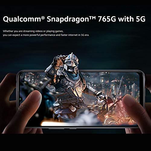 """Celular Xiaomi Mi 10 Lite 128GB / 6GB RAM/Dual sim/Tela 6.57"""" / Câmeras de 64MP + 8MP + 2MP + 5MP e 16MP - Cosmic Grey"""
