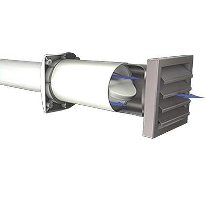 Gut bekannt AEROBOY Energiespar Mauerkasten Ø 125/150 mm Edelstahl/Kunststoff WE61