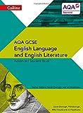 img - for Collins AQA GCSE English Language and English Literature   AQA GCSE English Language and English Literature: Advanced Student Book (Collins Gcse English Language and English Literature for Aqa) book / textbook / text book