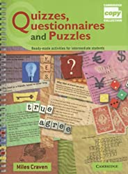 Quizzes, Questionnaires and Puzzles: Ready-Made Activities for Intermediate Students (Cambridge Copy Collection)