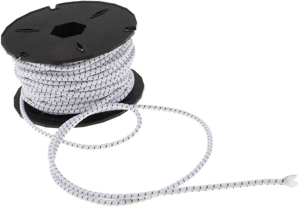 SM SunniMix 15m Corde /Élastique Tendeur de B/âche pour Bricolage
