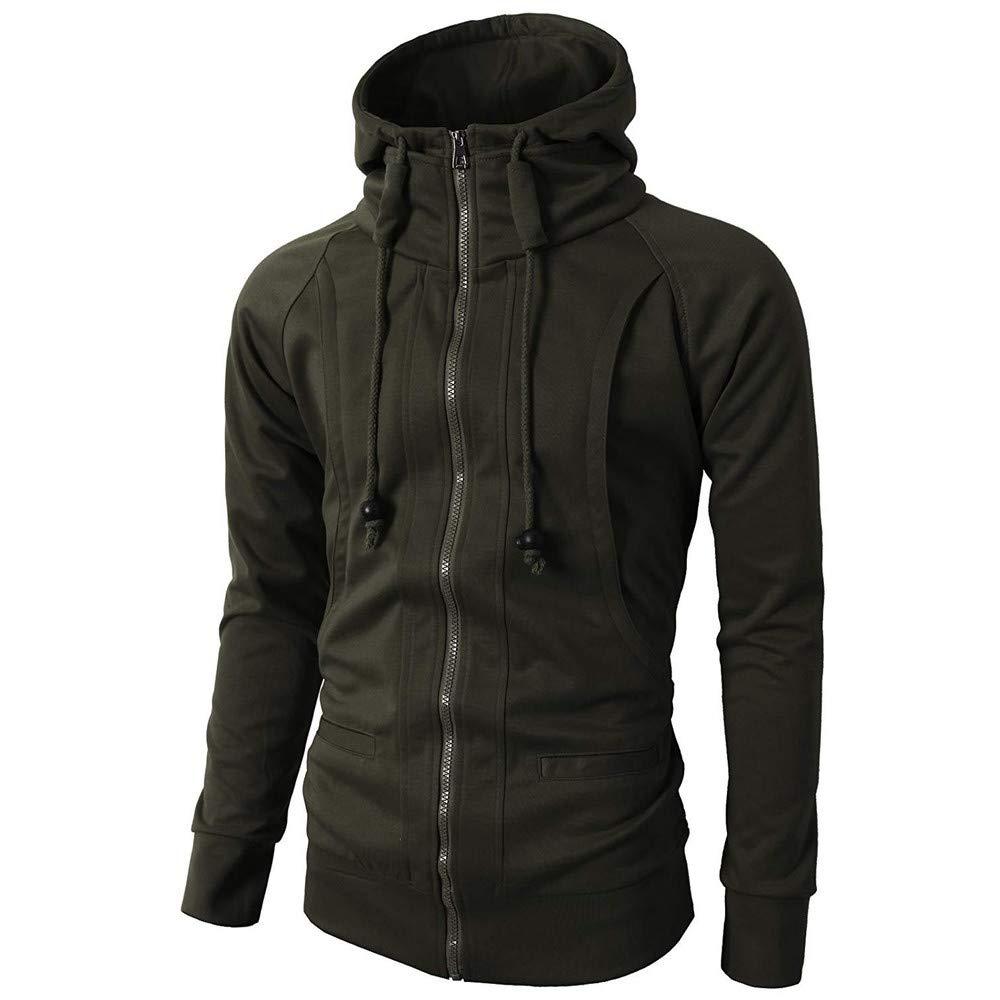 IMJONO Jacket,2019 Neujahrs Karnevalsaktion M/ännerJacken Men Fashion Casual Jacket Coat Slim Outwear Overcoat