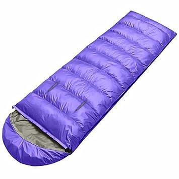 SUHAGN Saco de dormir Viajes Interiores Y Exteriores Para Adultos Camping Bolsas De Dormir Grueso Mano
