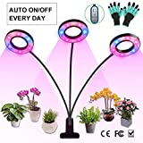 Grow Light, Growing Lamp for Indoor Plants with Timer Auto ON & Off