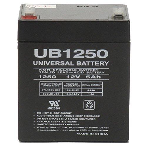 12V 5AH Rechargeable Sealed Lead Acid Battery (Backup Volt Battery)