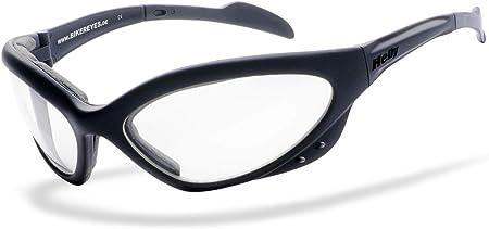 Helly No 1 Bikereyes Bikerbrille Motorrad Sonnenbrille Motorradbrille Chopper Brille Beschlagfrei Winddicht Bruchsicher Top Tragegefühl Brille Speed King 2 Auto