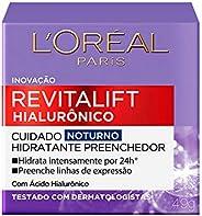 Creme Revitalift Hialurônico Noturno, L'Oréal P