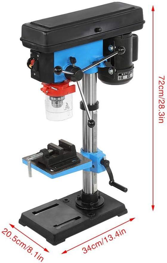 regolabile in altezza preciso trapano da banco Trapano a colonna con mandrino da 16 mm 220 V 550 W