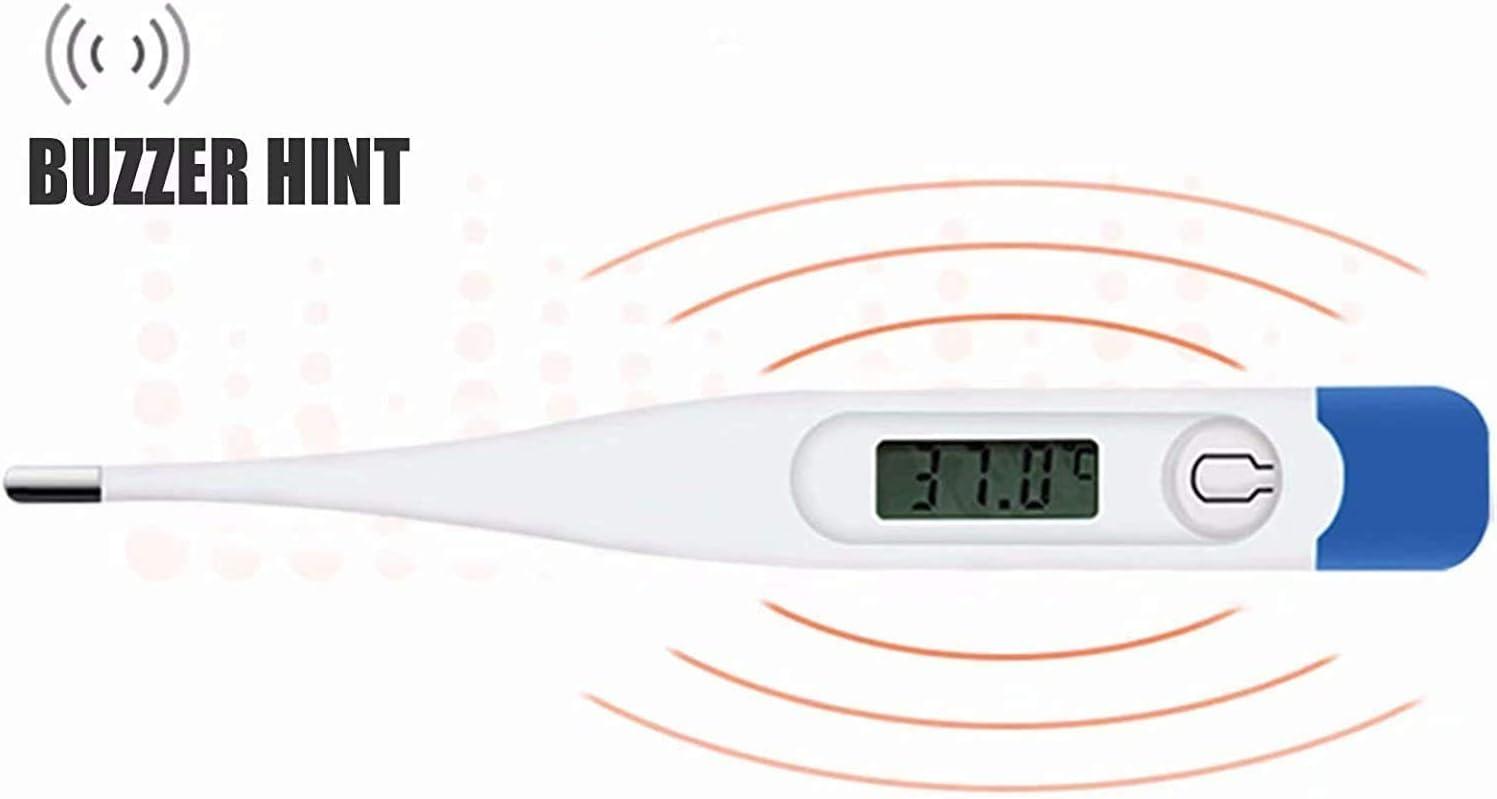 medici/ón de temperatura precisa adecuado para beb/és ni/ños y adultos r/ápida y segura. Term/ómetro electr/ónico term/ómetro dom/éstico para las axilas orales