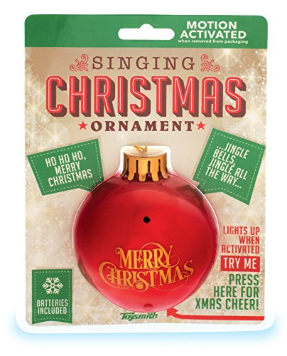 Toysmith Singing L U Ornament