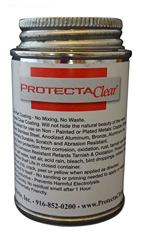 Gemstone Rust (ProtectaClear 4 Oz. Clear, Protective Coating for Metal)