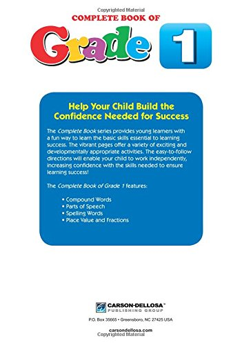Counting Number worksheets inflectional endings worksheets 2nd grade : Complete Book of Grade 1: Thinking Kids: 9781483813066: Amazon.com ...