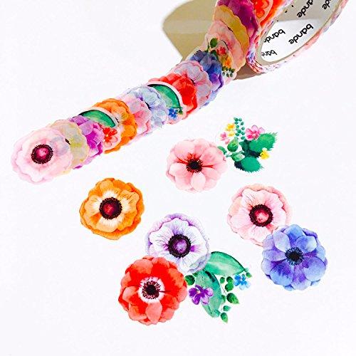Bande Masking Roll Sticker Masking Tape Anemone for Scrapbooking DIY (BDA206)