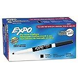 Toys : Expo Low Odor, Fine Tip, Black, Dry, Erase Marker, 2 Packs of 12,