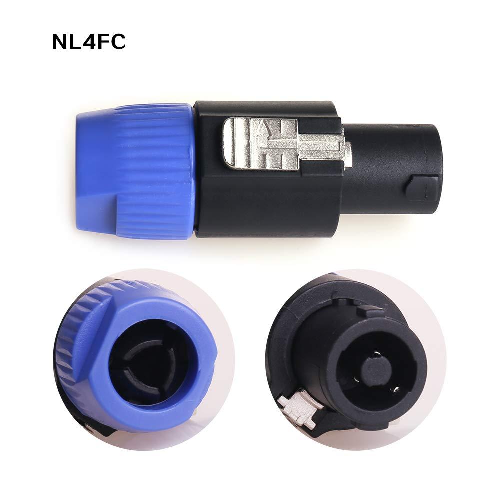 NANYI NL4FC Cable conector para altavoz amplificador de corona