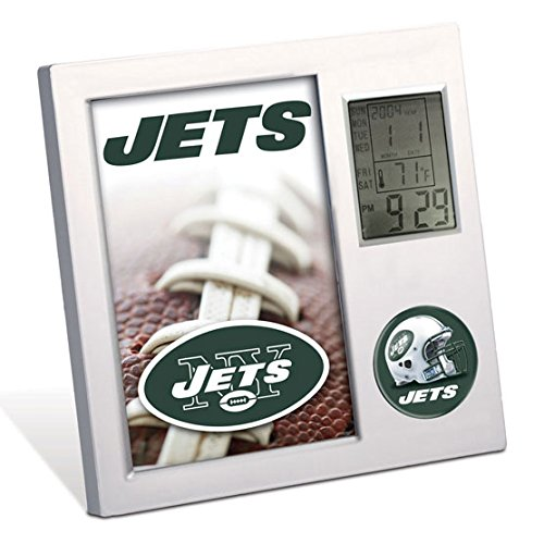 New York Jets Desk Clock - New York Jets NFL Desk Clock