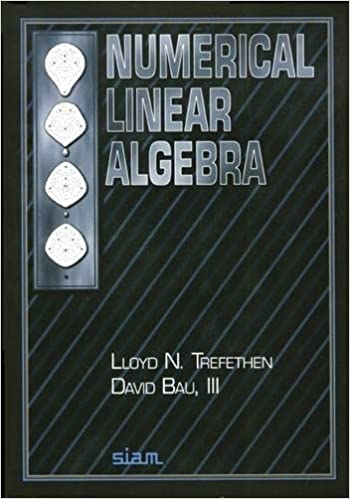amazon numerical linear algebra lloyd n trefethen david bau