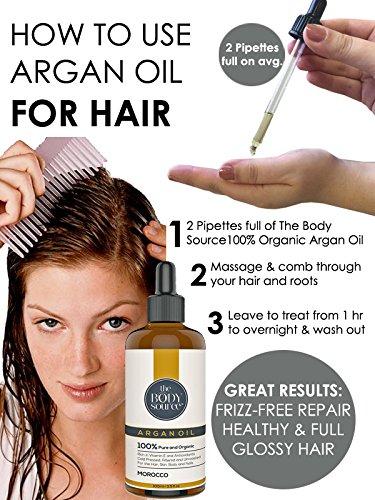 Beneficios del aceite de argán para el cabello