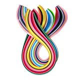 DIY Home Party Decor Paper Craft Art Quilling 360 Strips 36 Colors 540mm Length 3/5/7/10mm Width Available (Paper Width 7mm)