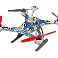 Skin For Blade 350 QX3 Drone – Tropical Fish | MightySkins Protective, Durable, and Unique Vinyl Decal wrap cover | Easy To Apply, Remove, and Change Styles | Made in the USA