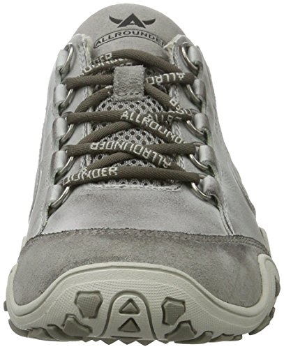 Mephisto Fedora - Zapatillas de Senderismo de Otra Piel Mujer, gris ( Grau (Cemento)