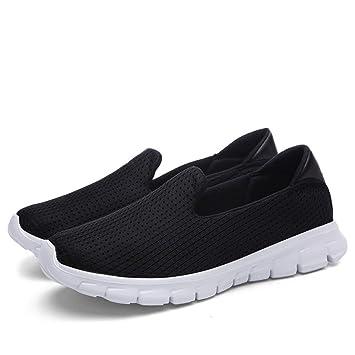 GUNAINDMX Primavera Verano Invierno Mujeres Mocasines Zapatos Slip On Shoes Zapatillas de Deporte de Moda Punta Redonda Zapatos Casuales: Amazon.es: ...