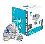 Triangle Bulbs T10127 - 5 Watt MR11 Halogen Light Bulb, 6 Volt, 30 Degree Beam Spread Precision Halogen Reflector Fiber Optic Light Bulb