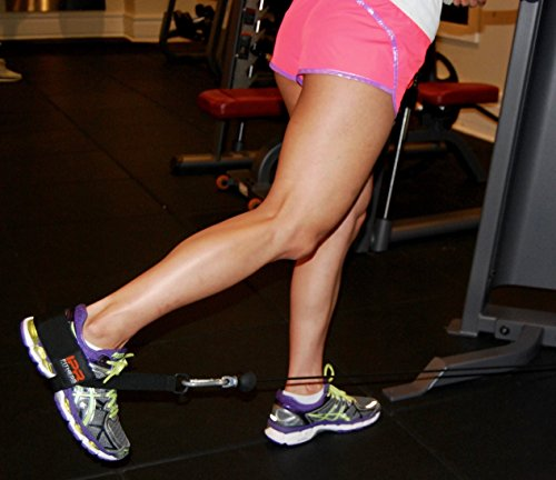 """Glute Kickback LITE """"Patented"""" Ankle Strap Made in the USA"""