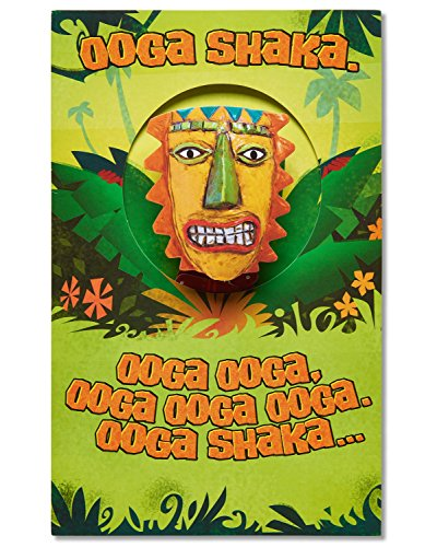 (American Greetings Funny OOGA Shaka Birthday Card with Music)