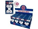 bulk buys Arizona Ping Pong Balls (Countertop Display), White/Red