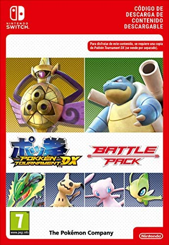 Pokkén Tournament DX Battle Pack [Switch - Download Code]: Amazon.es: Videojuegos